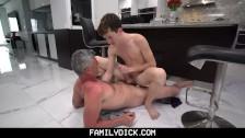 FamilyDick – Hot Stepdad Fucks His Boy After A Wrestling Lesson